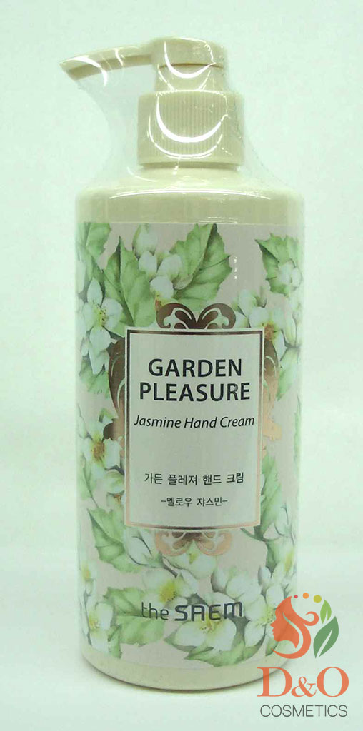 GARDEN P Крем для рук GARDEN PLEASURE Hand Cream -Mellow Jasmine- 300мл