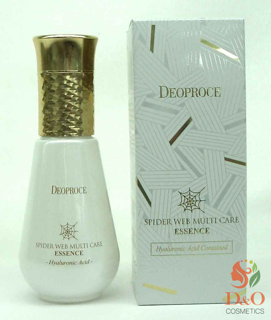 Эссенция с протеинами паутины. DEOPROCE SPIDER WEB Multi-care Essence 50 мл.
