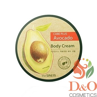 СМ CARE PLUS Крем для тела с экстрактом авокадо Care Plus Avocado Body Cream, 300 мл.