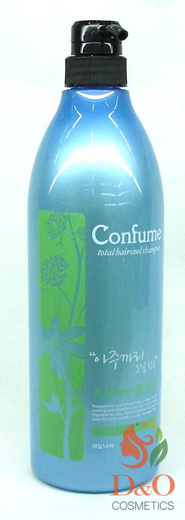 Шампунь для волос c экстрактом мяты. Confume Total Hair Cool Shampoo 950 мл.