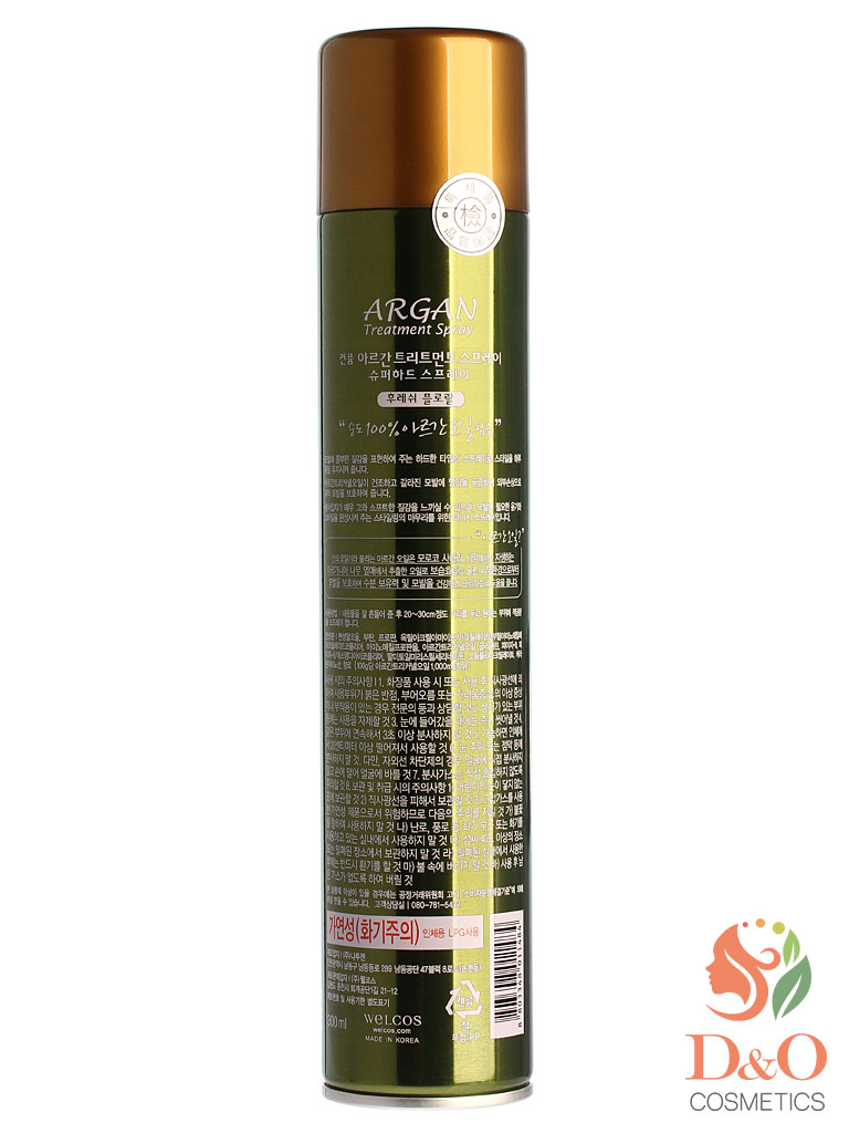 Лак для волос. Confume Argan Treatment Spray 300 мл.