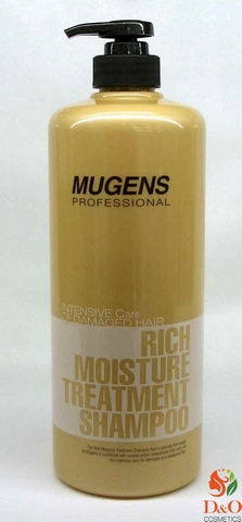 Шампунь для волос. Mugens Rich Moisture Treatment Shampoo 1000 мл.