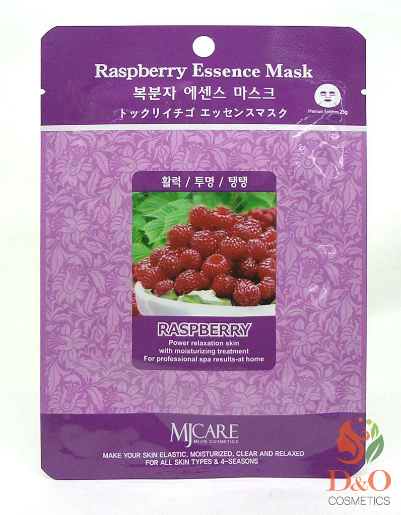 Маска тканевая малина. Raspberry Essence Mask 23 гр.