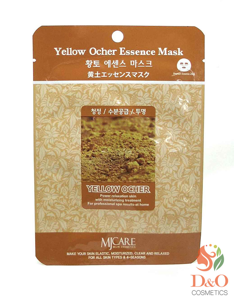 Маска тканевая охра. Yellow Ocher Essence Mask 23 гр.