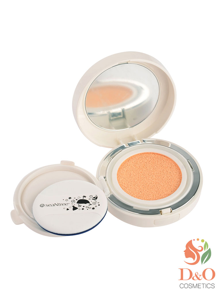 Основа тональная. SEANTREE UV White Cushion SPF50+/PA+++ Design 1, 15 гр.